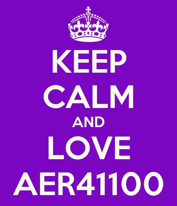 KEEP CALM AND LOVE AER41100