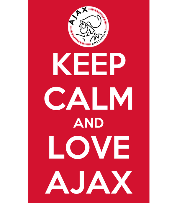 KEEP CALM AND LOVE AJAX