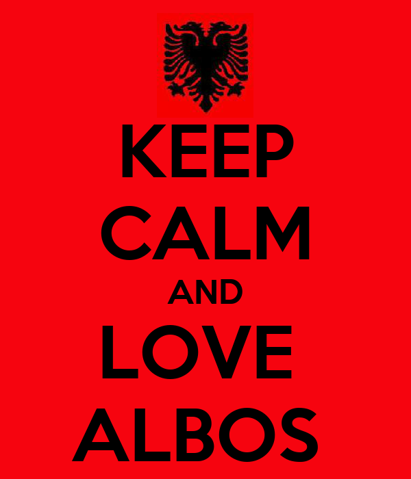 KEEP CALM AND LOVE  ALBOS