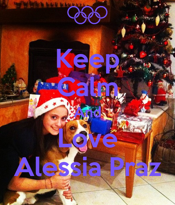 Keep Calm And Love Alessia Praz