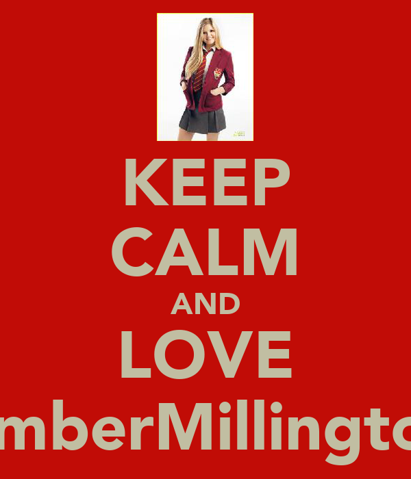 KEEP CALM AND LOVE AmberMillington