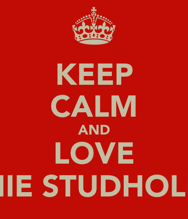 KEEP CALM AND LOVE AMIE STUDHOLME