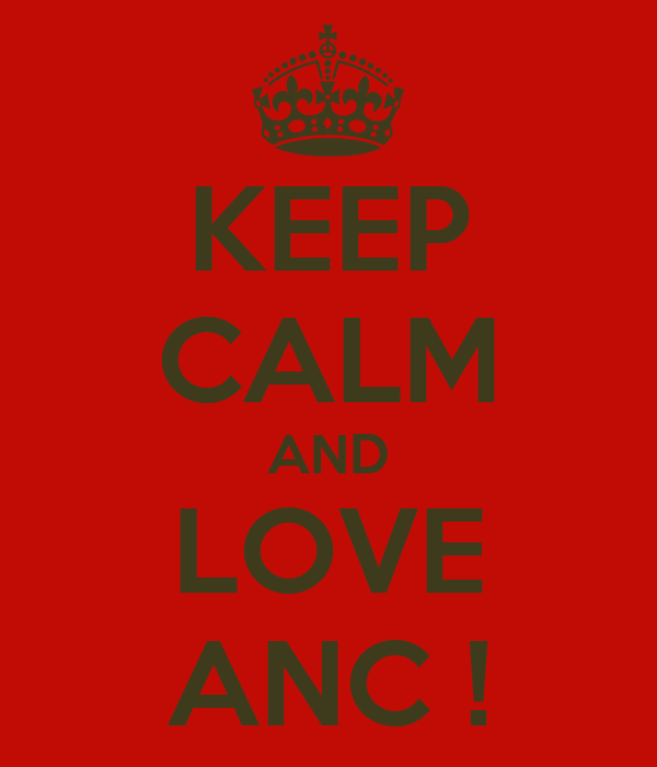 KEEP CALM AND LOVE ANC !