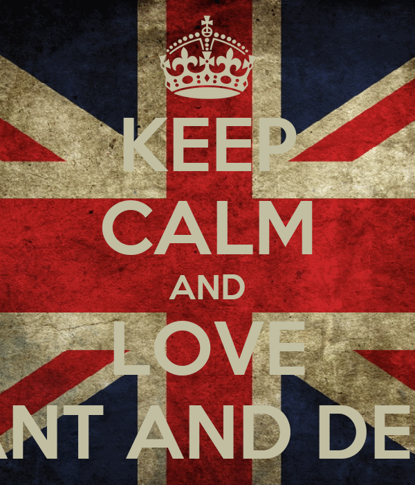 KEEP CALM AND LOVE ANT AND DEC