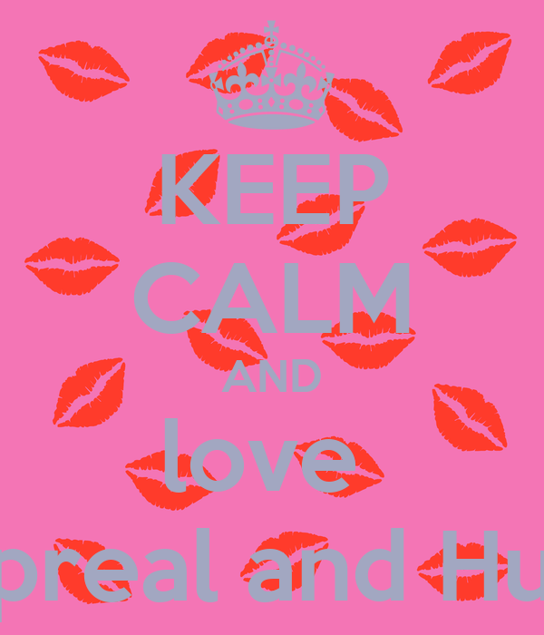 KEEP CALM AND love  Apreal and Huy