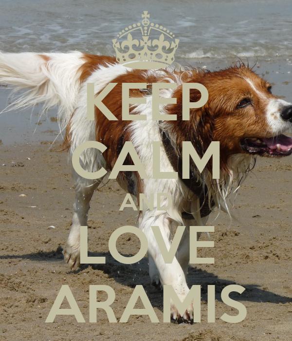 KEEP CALM AND LOVE ARAMIS
