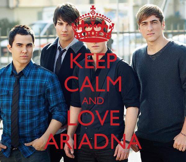 KEEP CALM AND LOVE ARIADNA