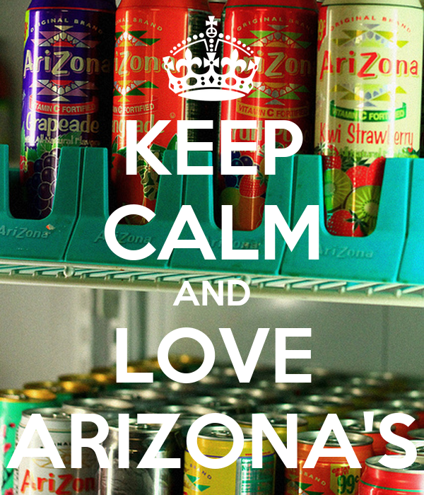 KEEP CALM AND LOVE ARIZONA'S
