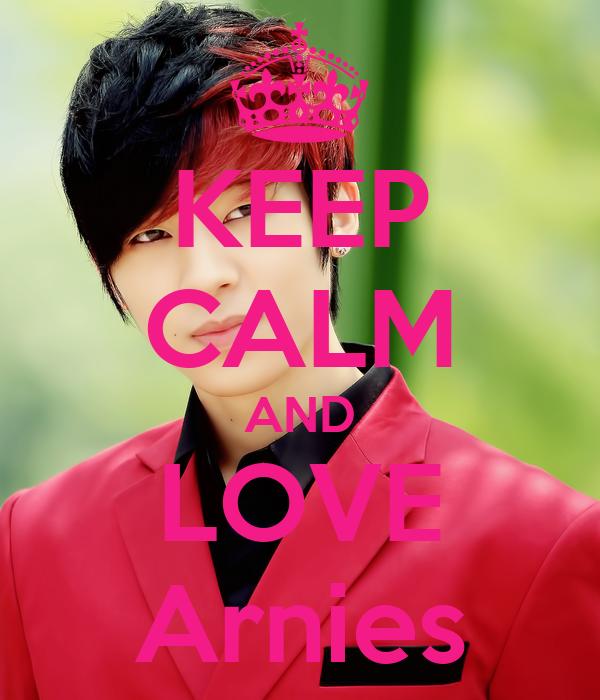 KEEP CALM AND LOVE Arnies
