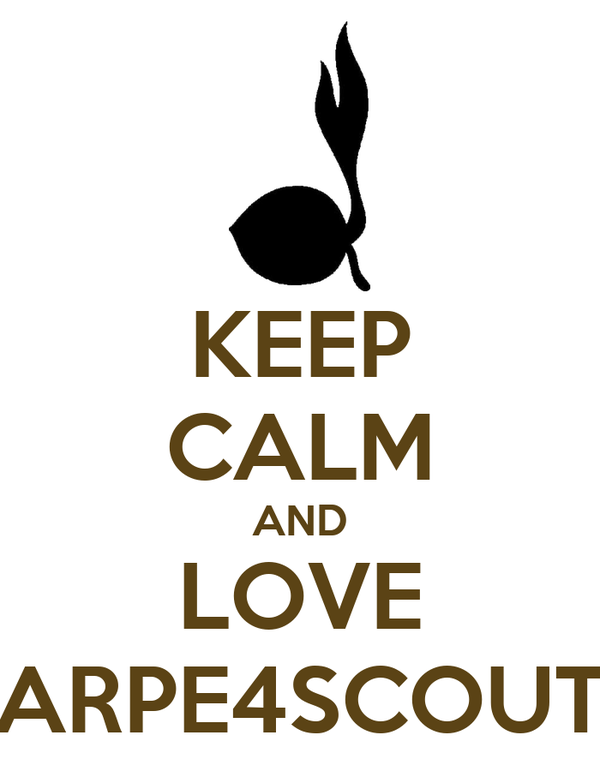 KEEP CALM AND LOVE ARPE4SCOUT