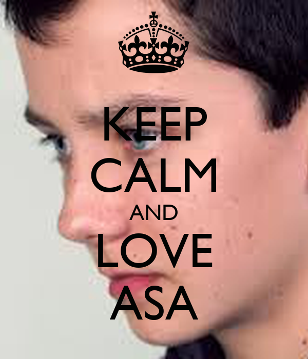 KEEP CALM AND LOVE ASA