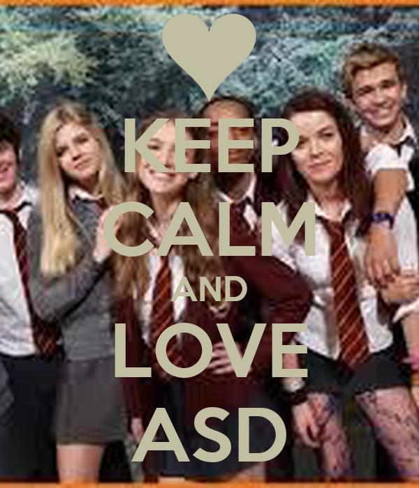 KEEP CALM AND LOVE ASD