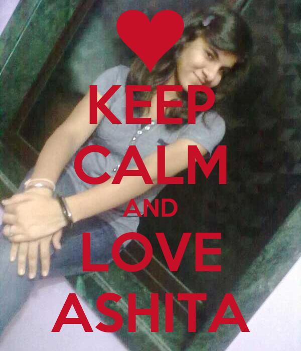 KEEP CALM AND LOVE ASHITA