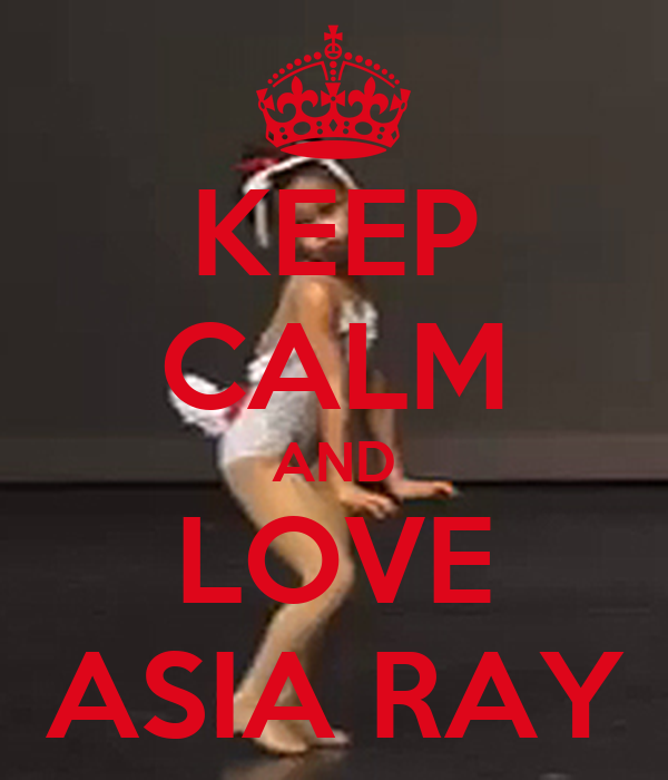KEEP CALM AND LOVE ASIA RAY