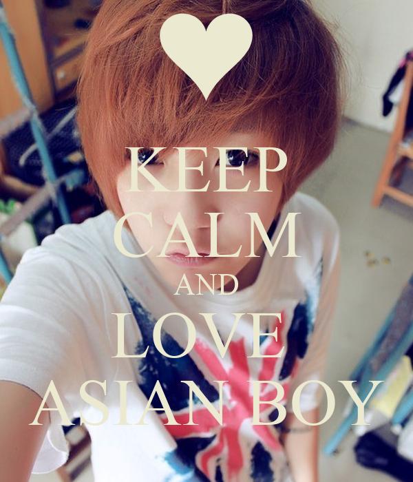 Love Asian Boy
