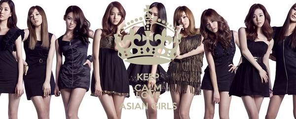 KEEP CALM AND LOVE ASIAN GIRLS
