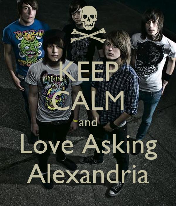 KEEP CALM and Love Asking Alexandria