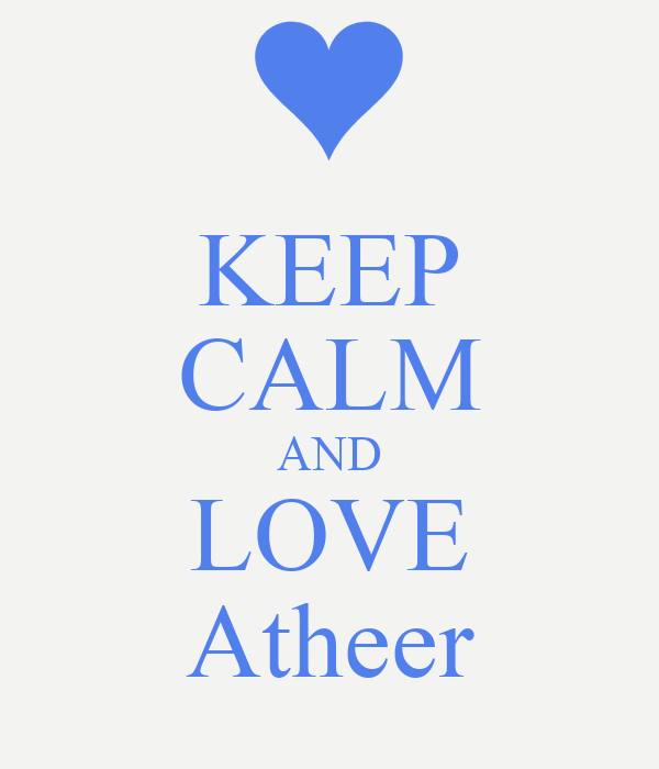 KEEP CALM AND LOVE Atheer