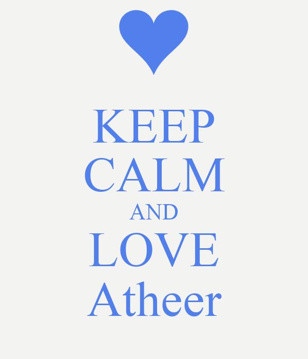 KEEP CALM AND LOVE Atheer