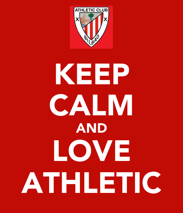 KEEP CALM AND LOVE ATHLETIC