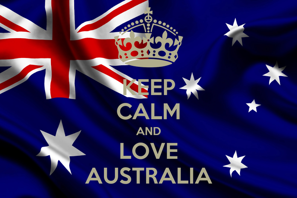 KEEP CALM AND LOVE AUSTRALIA