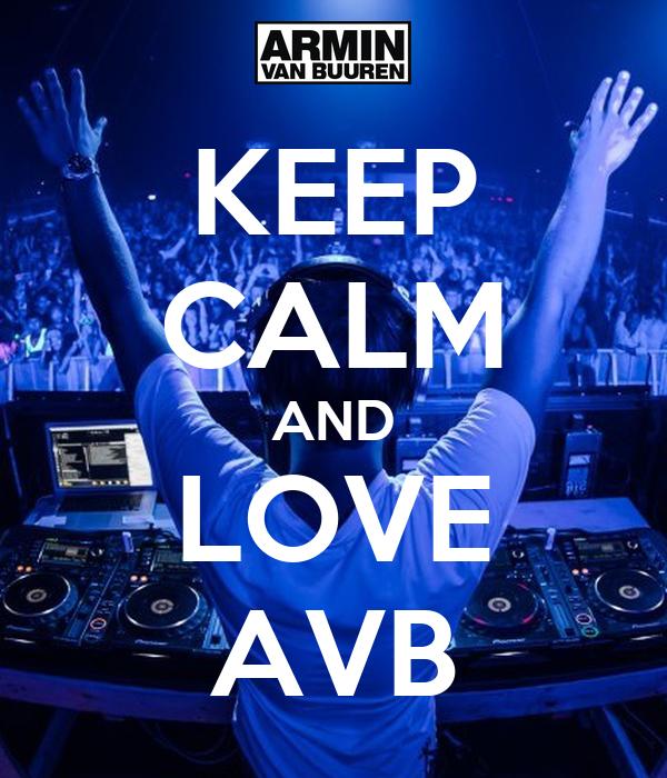 KEEP CALM AND LOVE AVB