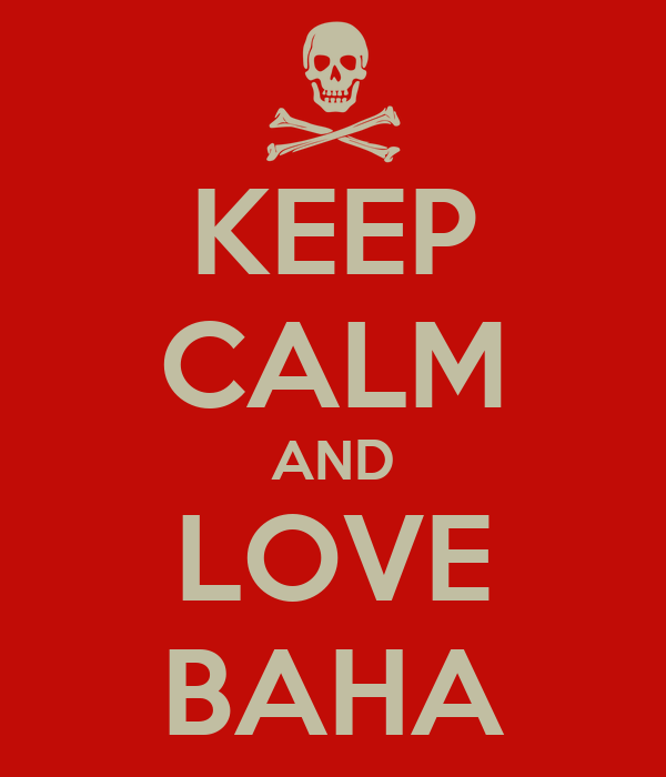 KEEP CALM AND LOVE BAHA