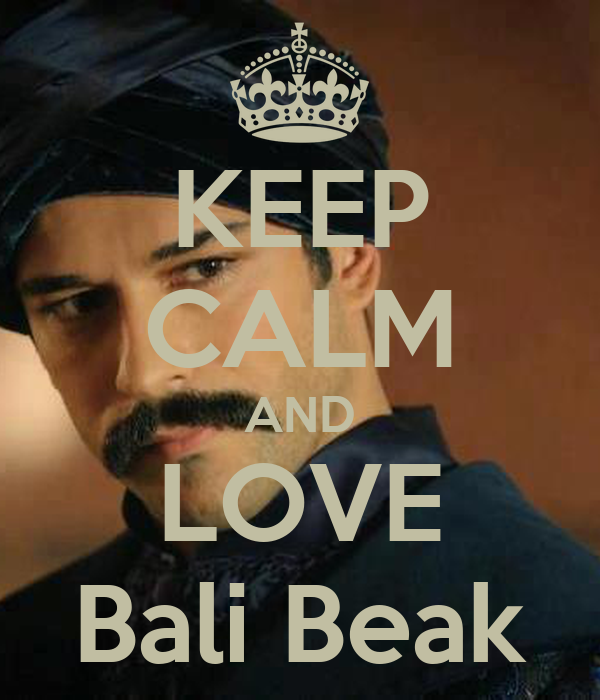 KEEP CALM AND LOVE Bali Beak