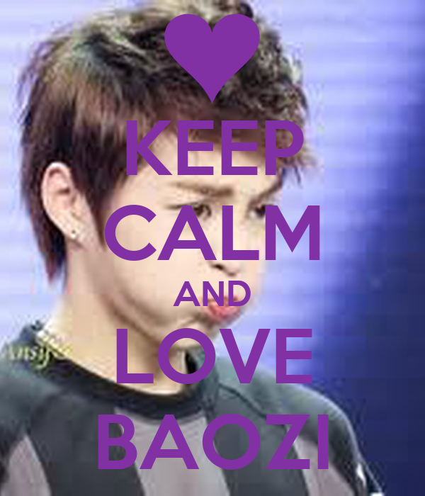 KEEP CALM AND LOVE BAOZI