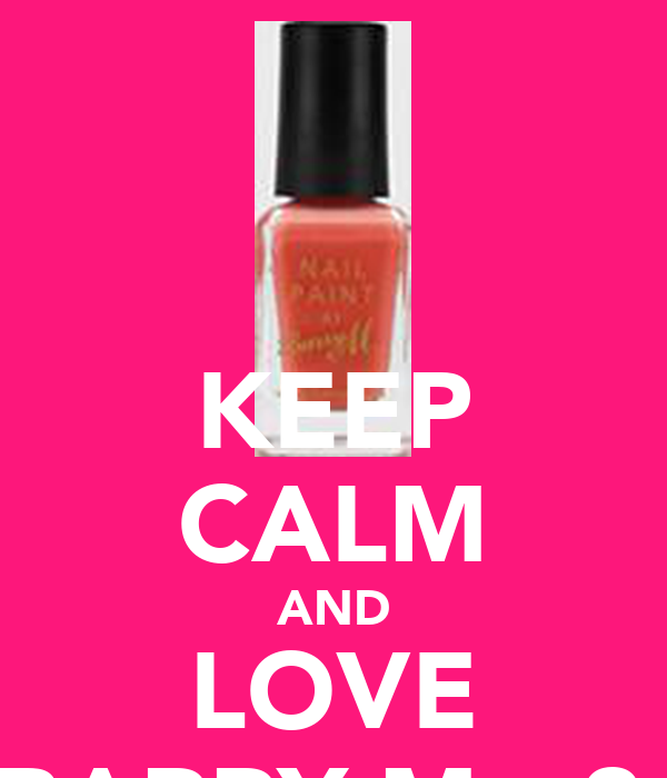 KEEP CALM AND LOVE BARRY M <3