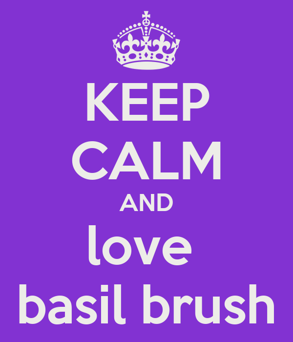 KEEP CALM AND love  basil brush