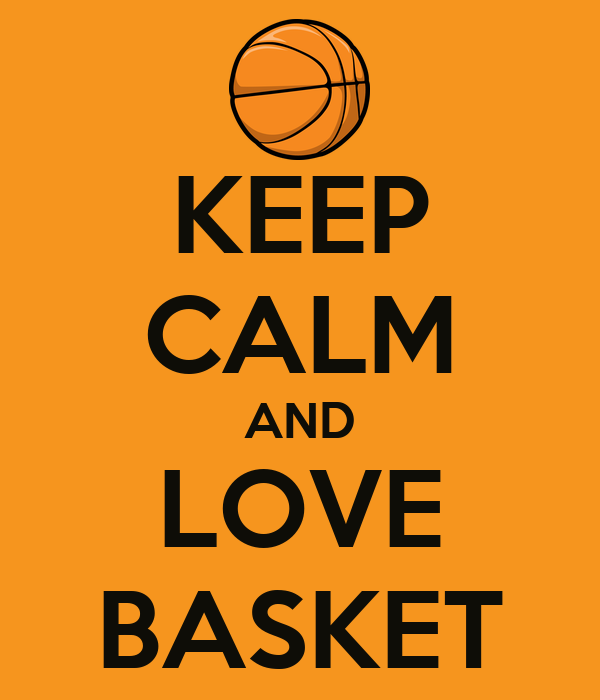 KEEP CALM AND LOVE BASKET