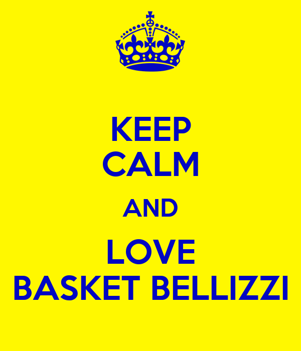 KEEP CALM AND LOVE BASKET BELLIZZI