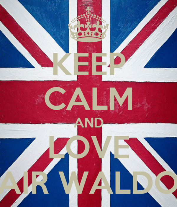 KEEP CALM AND LOVE BLAIR WALDORF