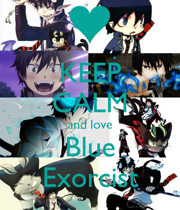KEEP CALM and love Blue Exorcist
