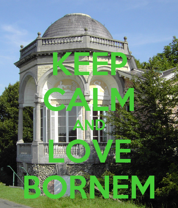 KEEP CALM AND LOVE BORNEM