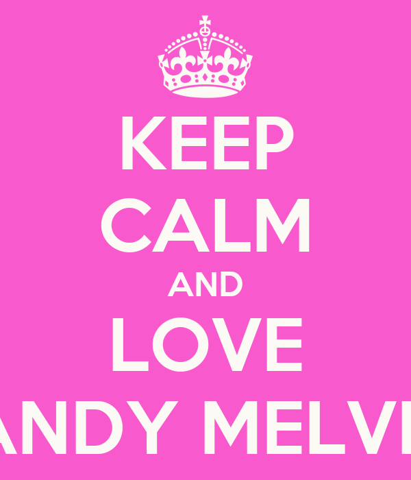 KEEP CALM AND LOVE BRANDY MELVILLE