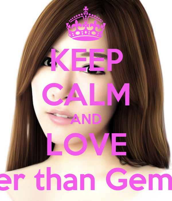 KEEP CALM AND LOVE Brighter than Gems Fany