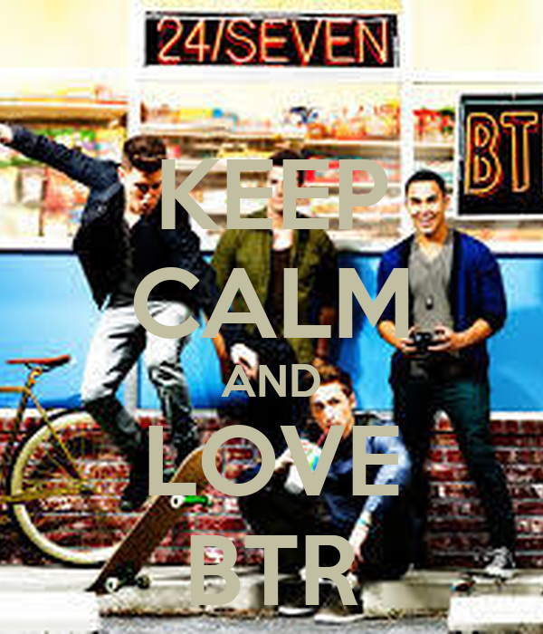 KEEP CALM AND LOVE BTR