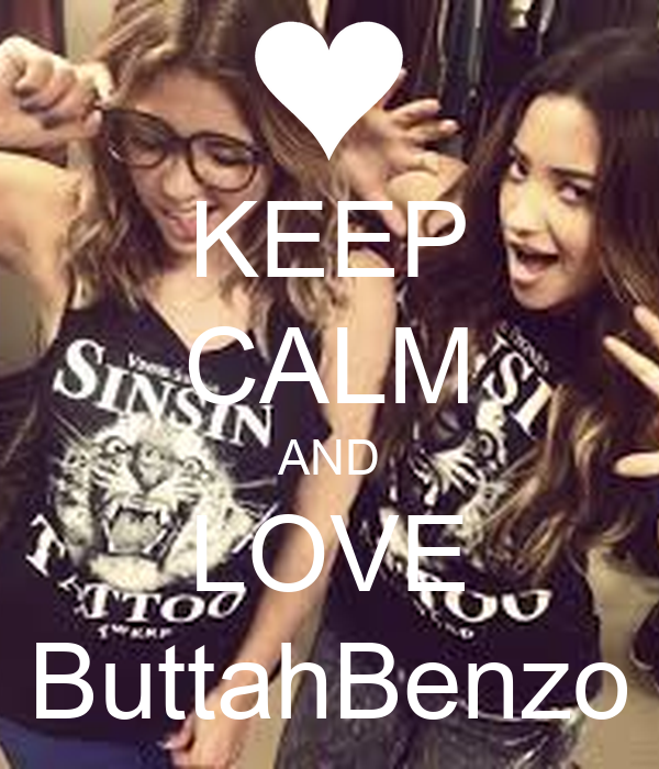 KEEP CALM AND LOVE ButtahBenzo