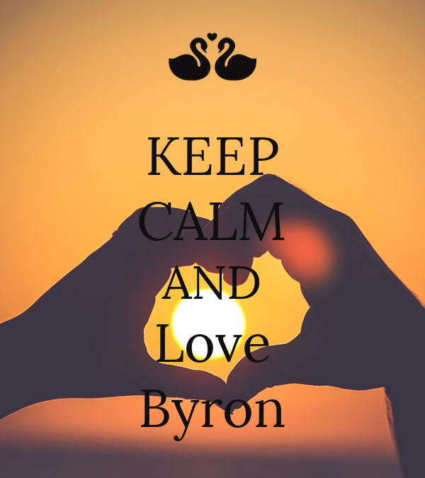 KEEP CALM AND Love Byron