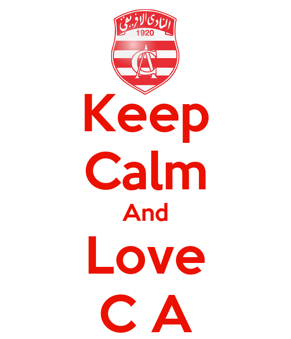 Keep Calm And Love C A