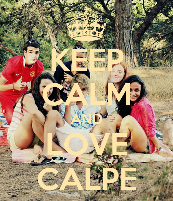 KEEP CALM AND LOVE CALPE