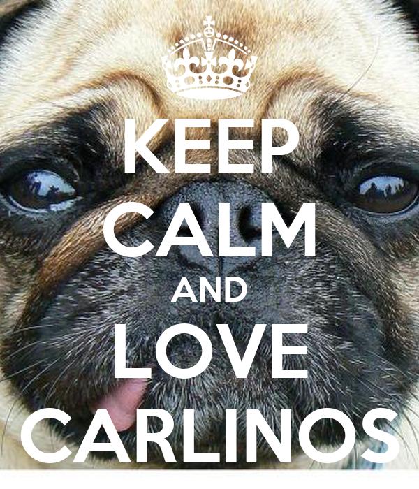 KEEP CALM AND LOVE CARLINOS