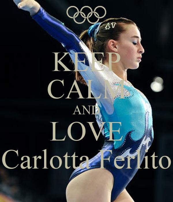 KEEP CALM AND LOVE Carlotta Ferlito