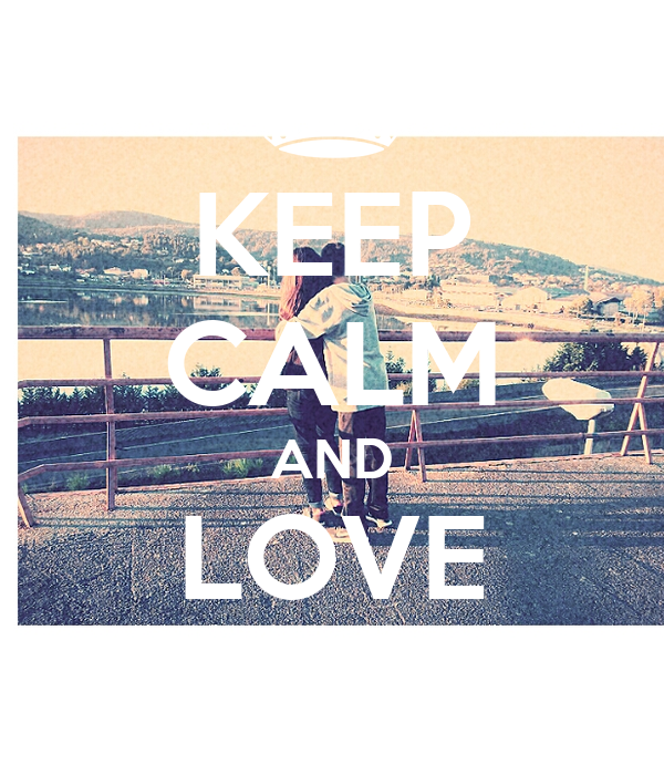 KEEP CALM AND LOVE CAROL