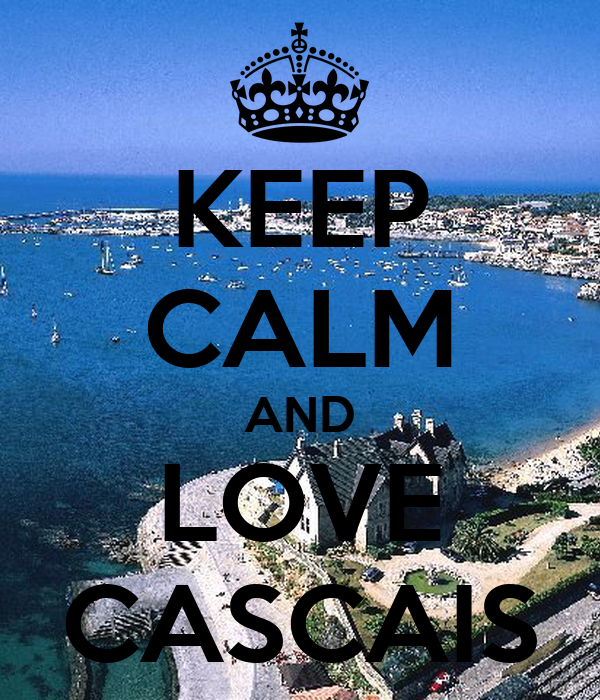 KEEP CALM AND LOVE CASCAIS