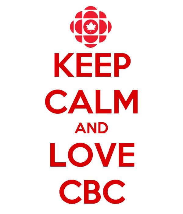 KEEP CALM AND LOVE CBC