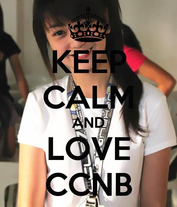 KEEP CALM AND LOVE CCNB