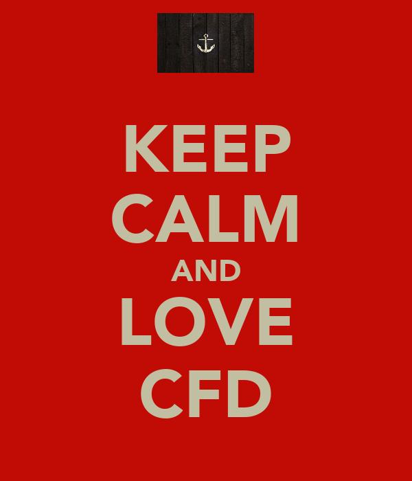 KEEP CALM AND LOVE CFD